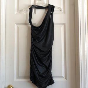 BEBE FAUX LETHER DRESS